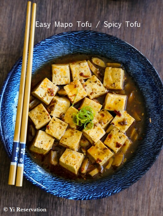 easy-sichuan-spicy-tofu / Yi Reservation