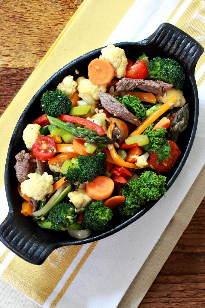 elk-stir-fry/ Simply Fresh Dinners