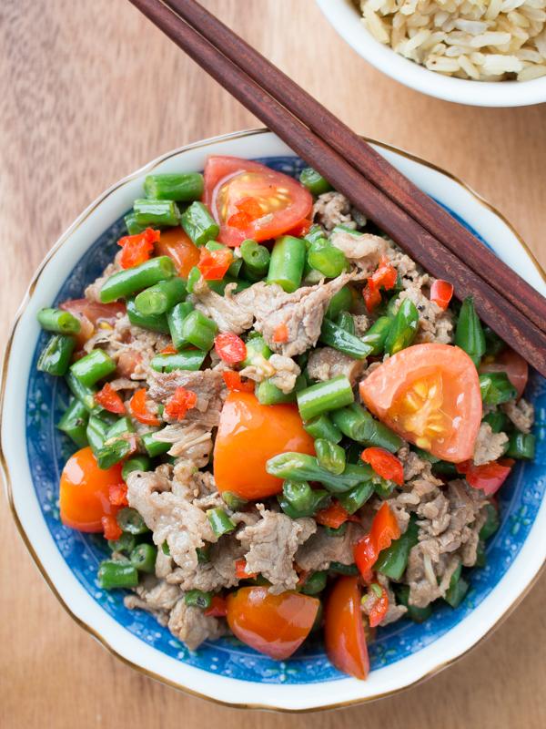 Sichuan Pepper Beef / http://bamskitchen.com