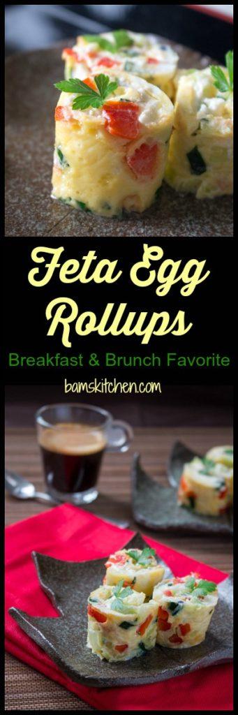 Feta Egg Roll Ups/ https://www.hwcmagazine.com