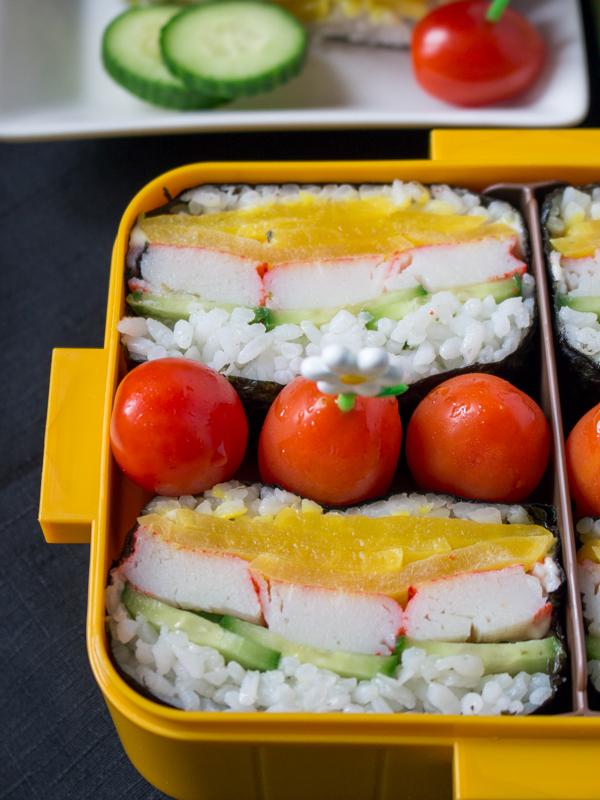 Wasabi Mayo Crab Onigirazu / https://www.hwcmagazine.com