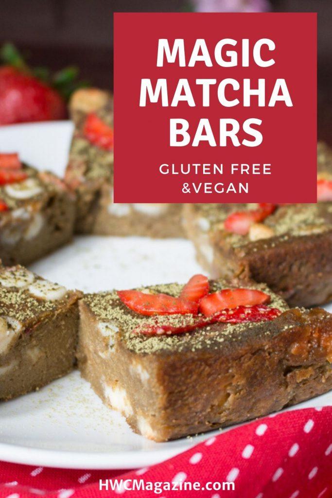 Magic matcha bars / https://www.HWCMagazine.com