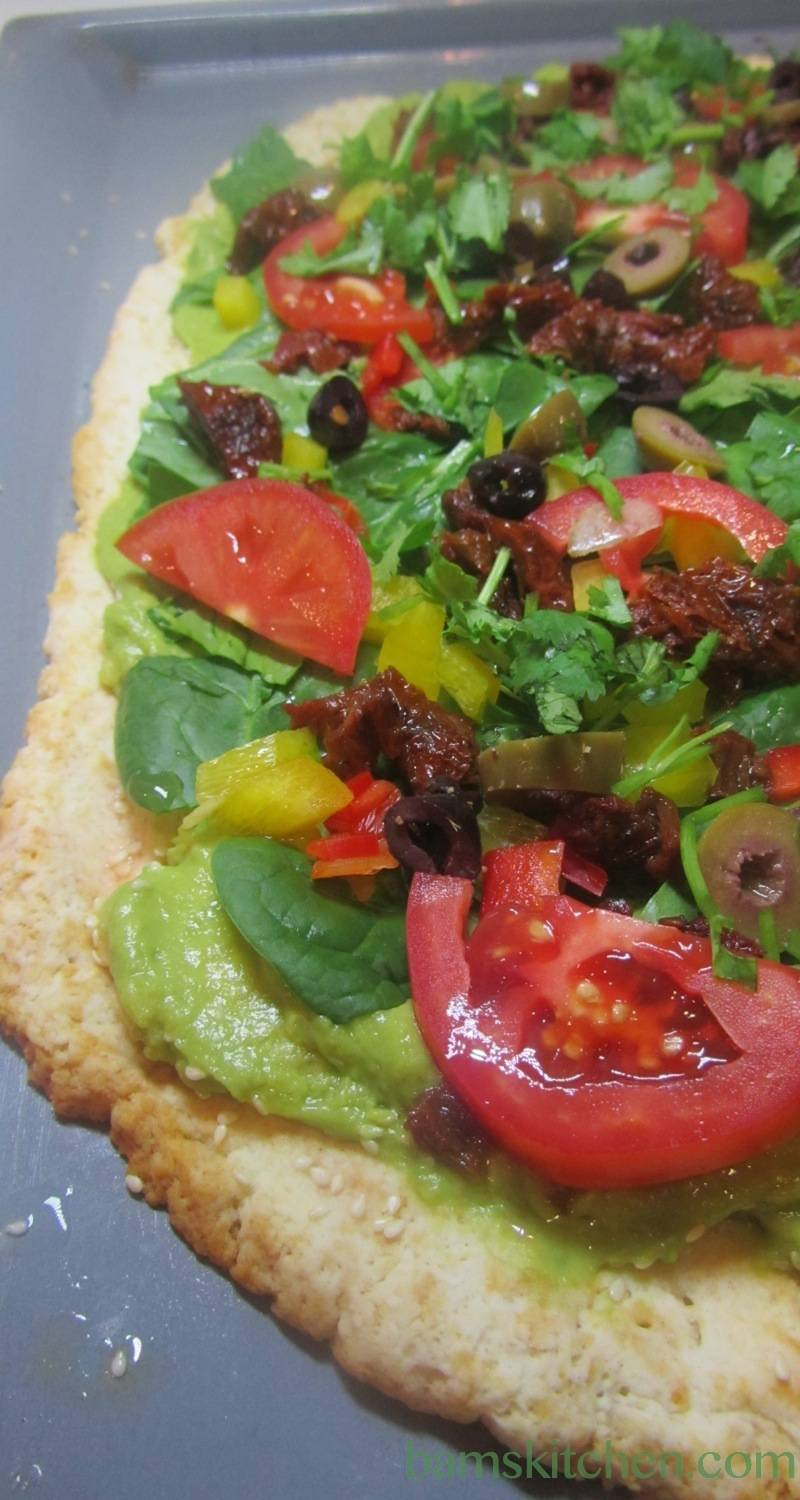 Wholly guacamole Pizza Pizzazz
