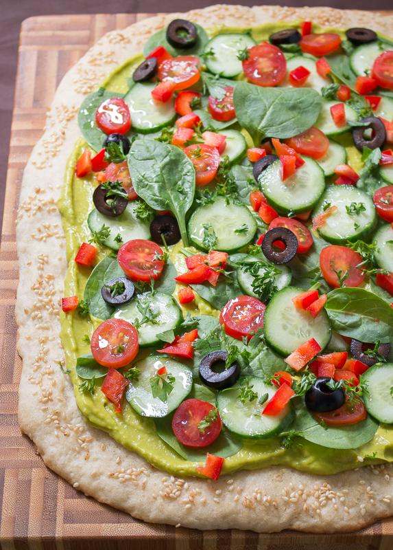 Wholly Guacamole Pizza Pizzaz / http://bamsktichen.com
