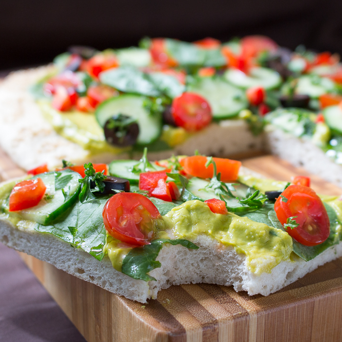 Wholly Guacamole Pizza Pizzaz / http://bamskitchen.com