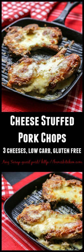 Cheese Stuffed Pork Chops / https://www.hwcmagazine.com