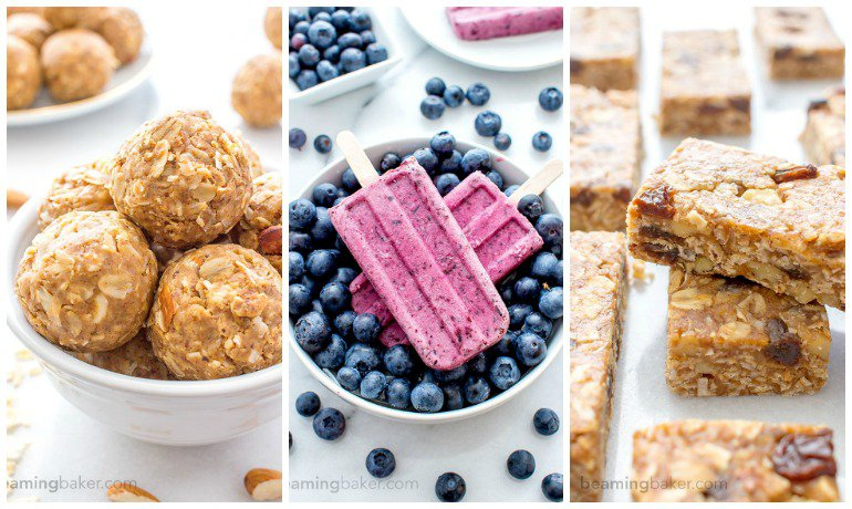 7 Easy No-Bake Summer Snacks (Vegan, Gluten Free) / http://bamskitchen.com