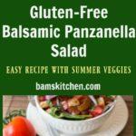 Gluten-free balsamic panzanella salad / https://www.hwcmagazine.com