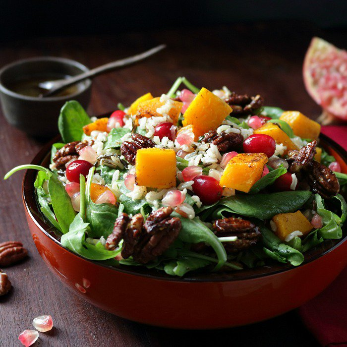 Autumn Festive Salad / http://bamskitchen.com