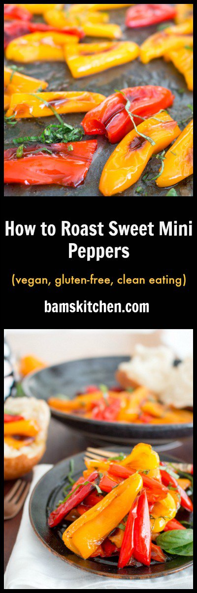 How to Roast Sweet Mini Peppers / https://www.hwcmagazine.com