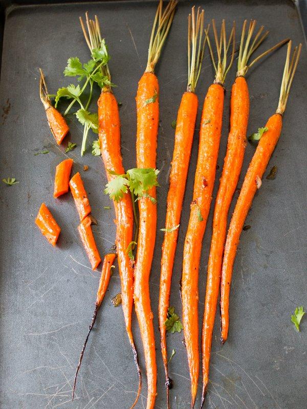 Vegan Ginger Cumin Carrots / http://bamskitchen.com