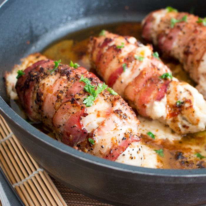 Chorizo and Cream Cheese Stuffed Chicken Breasts / https://www.hwcmagazine.com