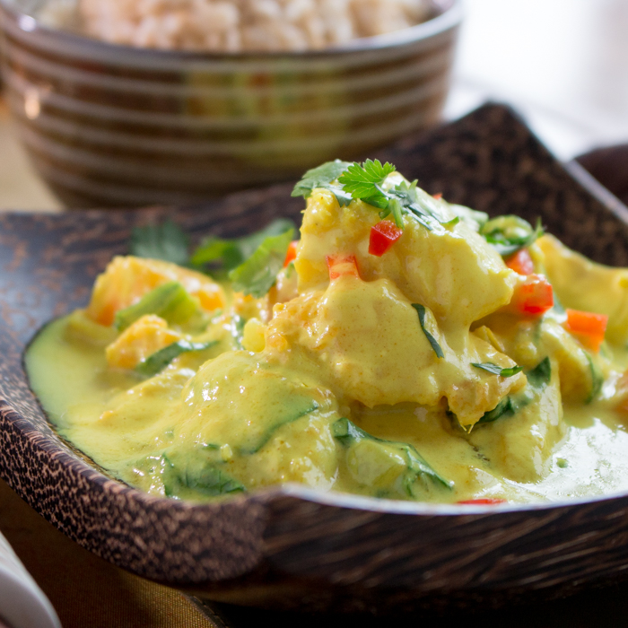 Halibut Coconut Curry in a Hurry / https://www.hwcmagazine.com