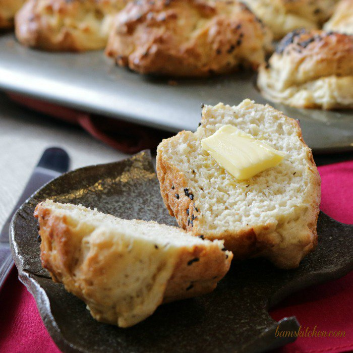 Gluten-Free Herbs de Provence Buns /http://bamskitchen.com