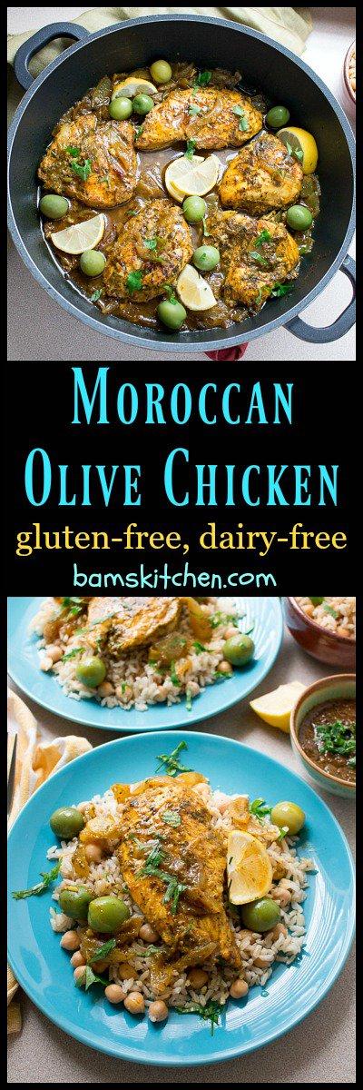 Moroccan Olive Chicken / https://www.hwcmagazine.com