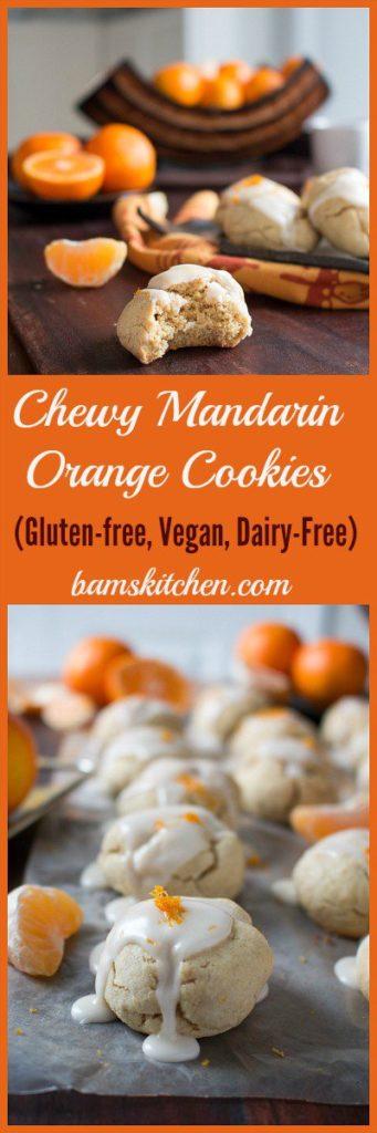 Chewy Mandarin Orange Cookies / https://www.hwcmagazine.com
