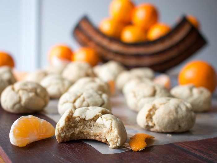 Chewy Mandarin Orange Cookies / http://bamskitchen.com