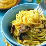 Creamy-Kabocha-Truffle-Pasta / Healthy World Cuisine