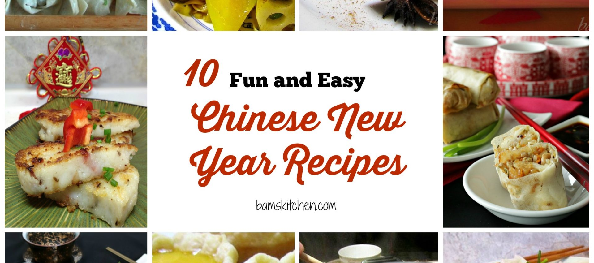 10 fun and easy chinese new year recipes - Chinese New Year Food Recipes