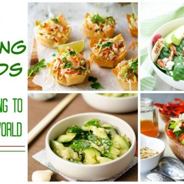 10 + Amazing Salads that are going to rock your world roundup collage.