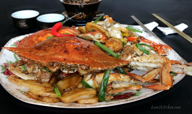 Flower Shrimp Chinese Food