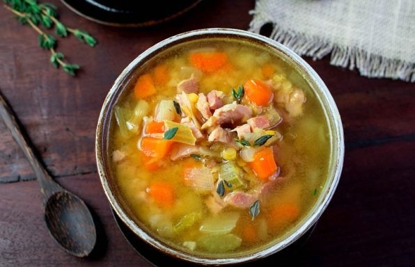 Curried Ham Lentil Soup / https:www.hwcmagazine.com