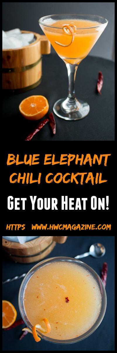 Blue Elephant Chili Cocktail / https://www.hwcmagazine.com