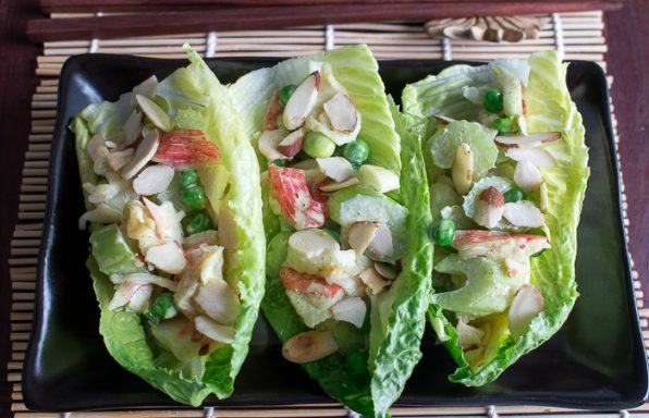 Super Easy Crab Salad/ https://www.hwcmagazine.com