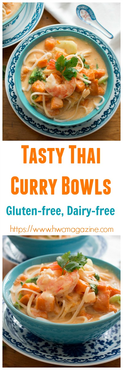 Tasty Thai Curry Bowls / https:www.hwcmagazine.com