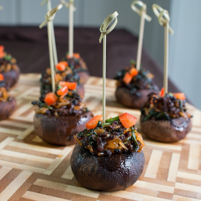 Homemade Chorizo Stuffed Mushrooms / https://www.hwcmagazine.com