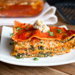 Vegetable Tofu Ricotta Lasagna / https://www.hwcmagazine.com