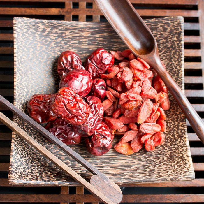 Goji Berry and Red Dates Herbal Tea
