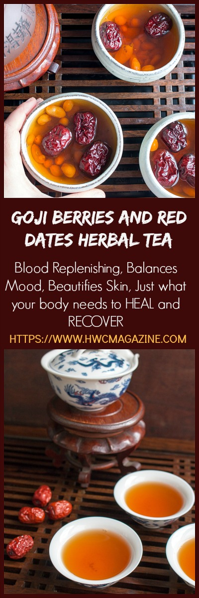 Goji Berry And Red Dates Herbal Tea Healthy World Cuisine