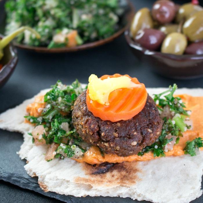 Super Crispy Falafel Bites / https://www.hwcmagazine.com