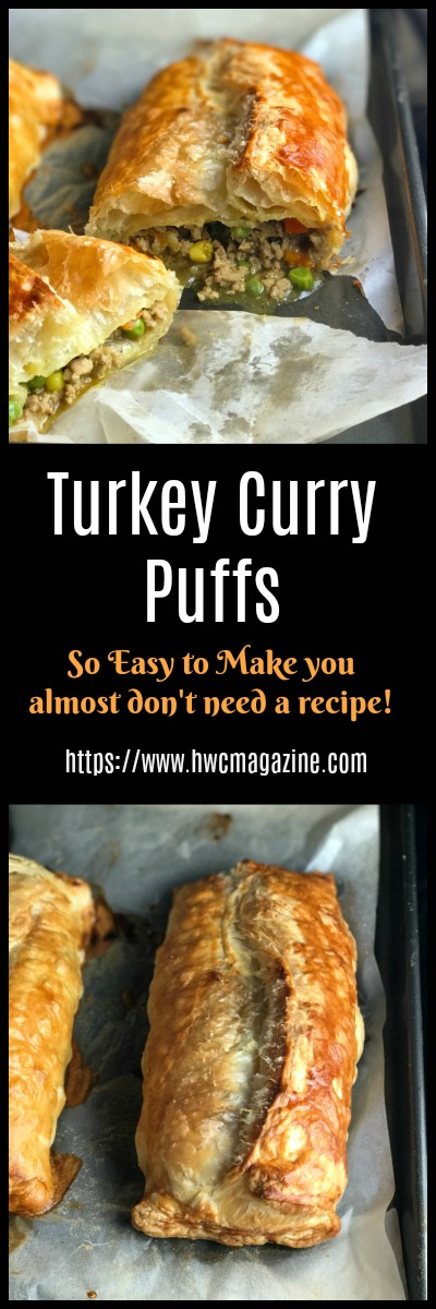 Turkey Curry Puffs / https://www.hwcmagazine.com