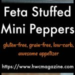 Feta Stuffed Mini Peppers / https://www.hwcmagazine.com