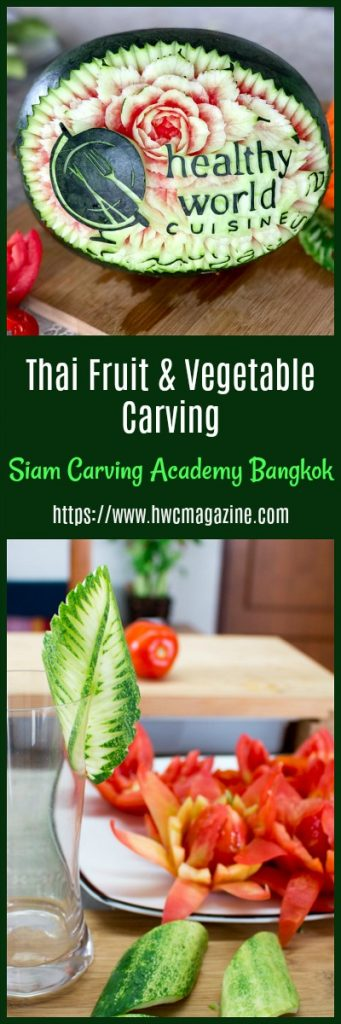 Thai Fruit and Vegetable Carving / https://www.hwcmagazine.com