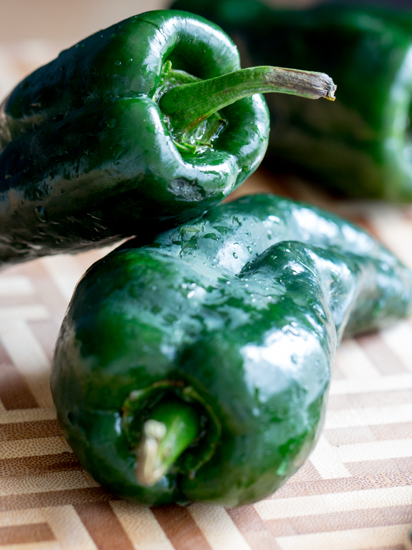 Roasted Stuffed Poblano Peppers / https://www.hwcmagazine.com