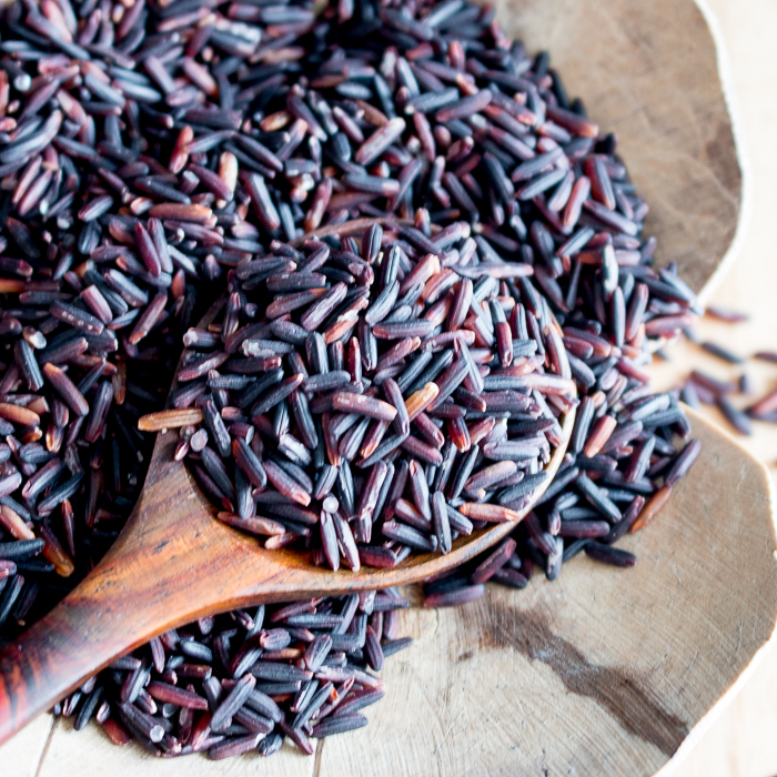 Curried Harvest Black Forbidden Rice / https://www.hwcmagazine.com