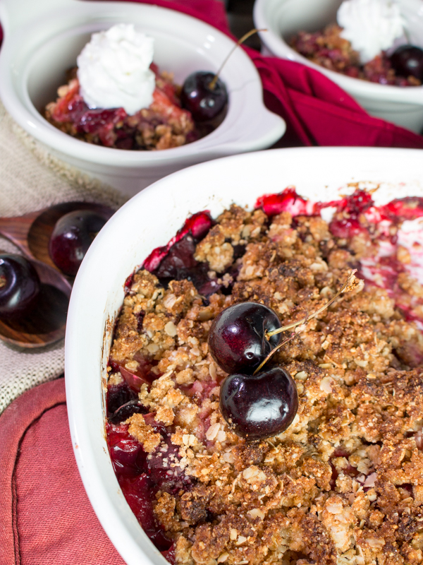 Cherry Plum Cobbler / https://www.hwcmagazine.com
