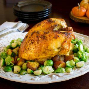 Roasted Turmeric Spiced Turkey Breast / https://www.hwcmagazine.com
