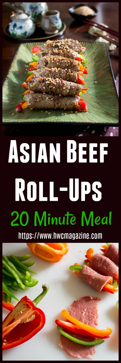 Asian Beef Roll Ups / https://www.hwcmagazine.com