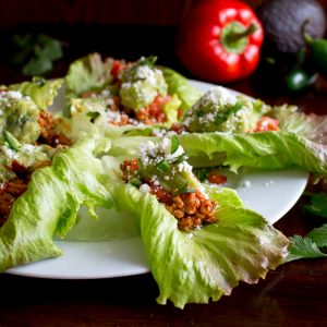 Turkey Taco Lettuce Wraps / https://www.hwcmagazine.com