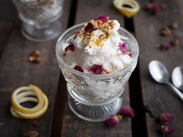 Lemon Rose Cardamom Cheesecake Mousse/ https://www.hwcmagazine.com