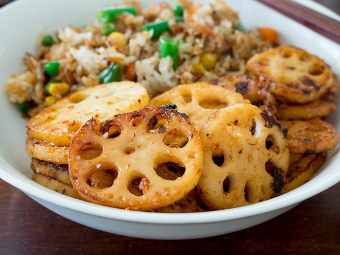 Garlic Chili Stir Fried Lotus Root / https://www.hwcmagazine.com