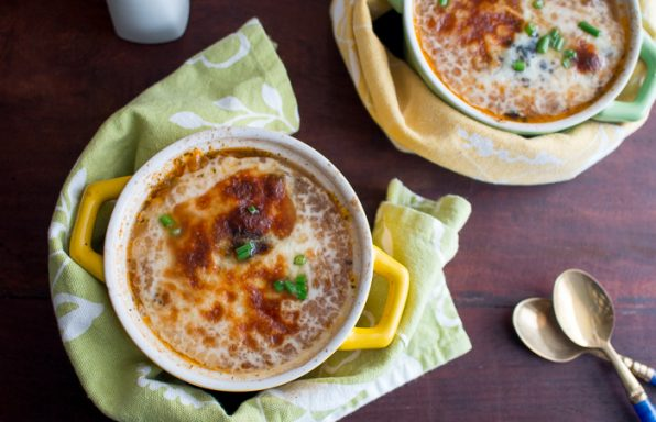 French Beef Vegetable Mushroom Onion Soup / https://www.hwcmagazine.com