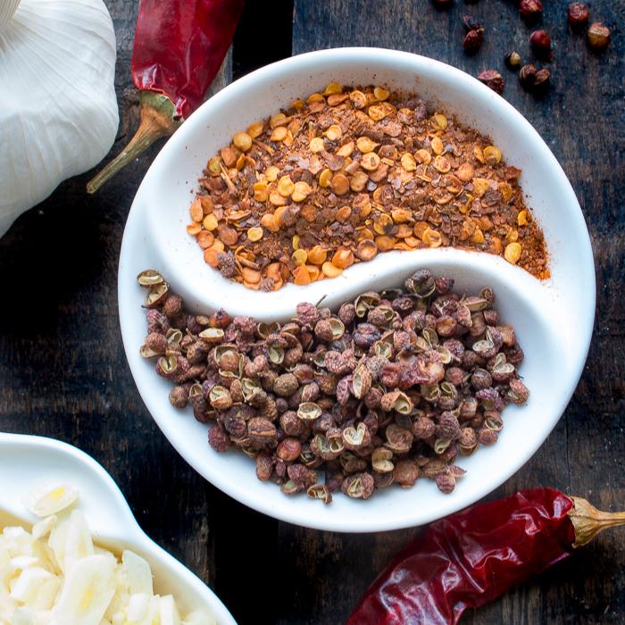 Homemade Sichuan Garlic Chili Oil/ https://www.hwcmagazine.com