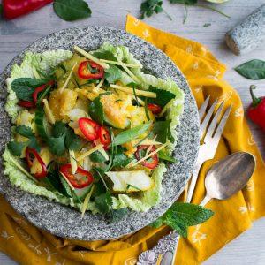 Authentic Thai Fish Salad / https://www.hwcmagazine.com