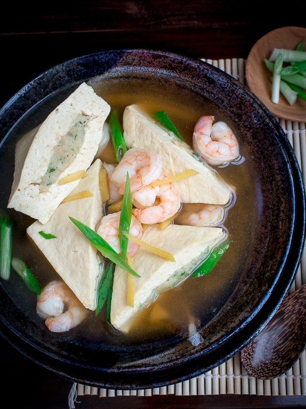 Shrimp Stuffed Tofu Soup/ https://www.hwcmagazine.com