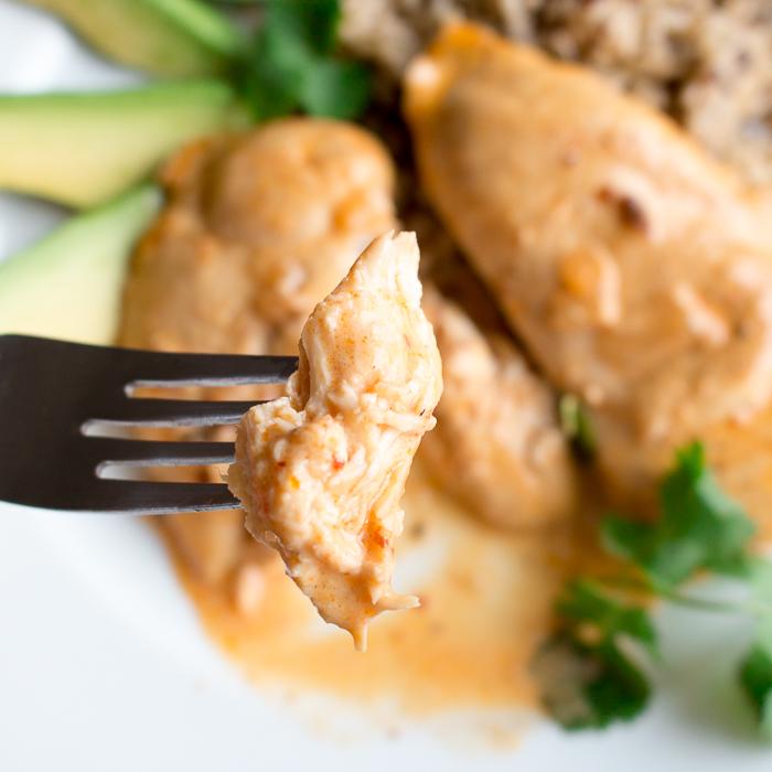 Creamy Chipotle Chicken Skillet/ https://www.hwcmagazine.com